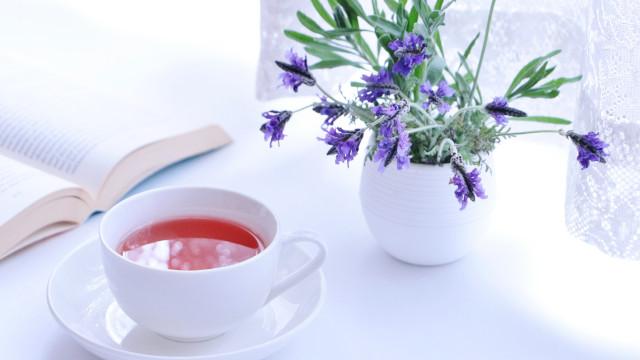 紅茶とラベンダー